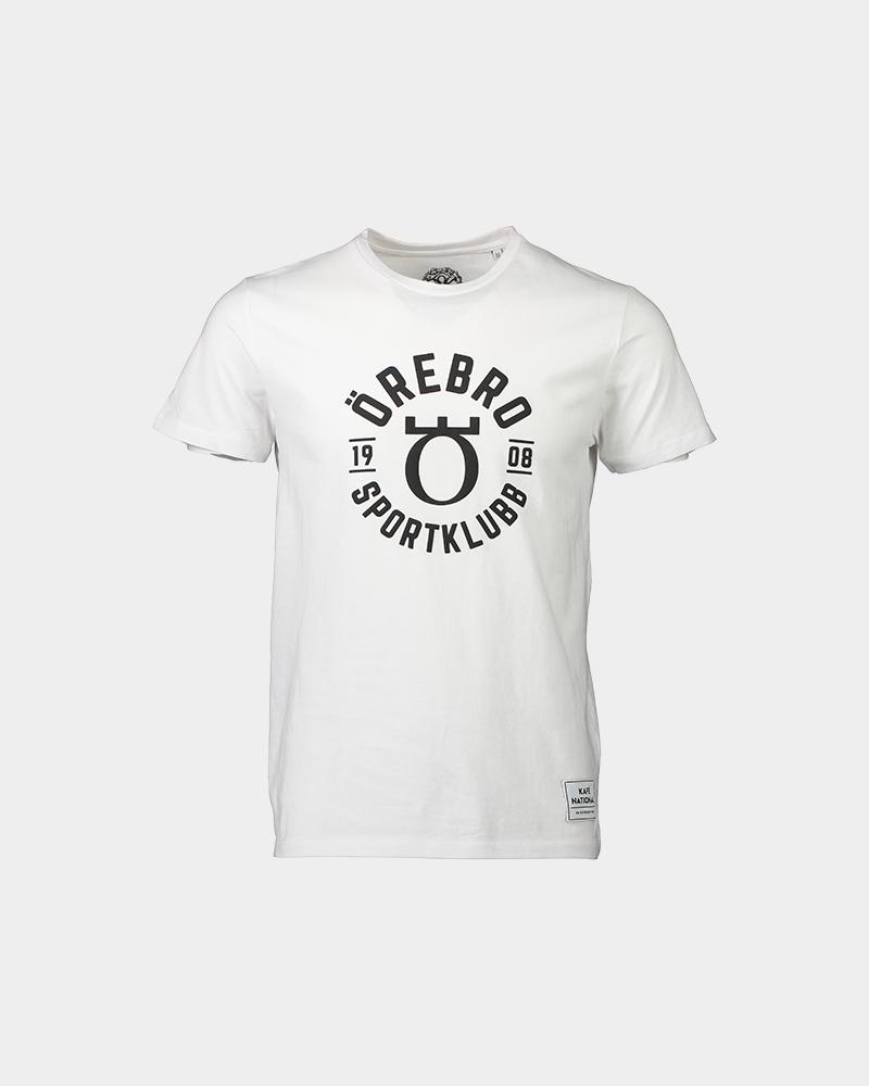 Vit t-shirt med örebro sportklubb