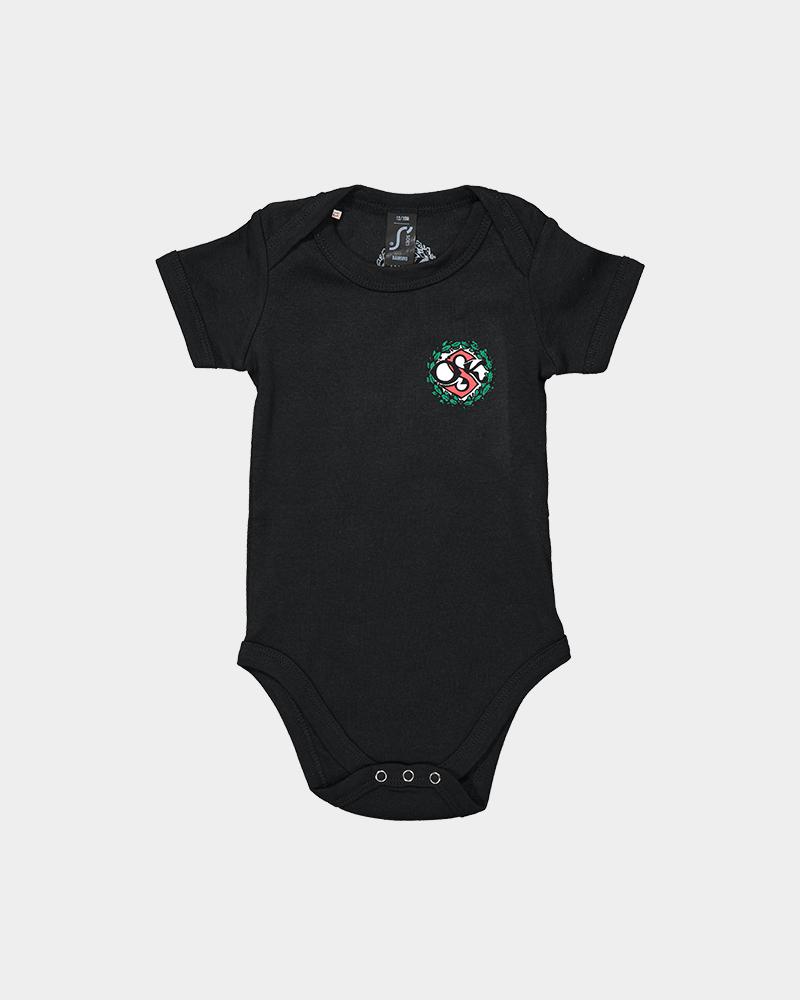 Baby body svart